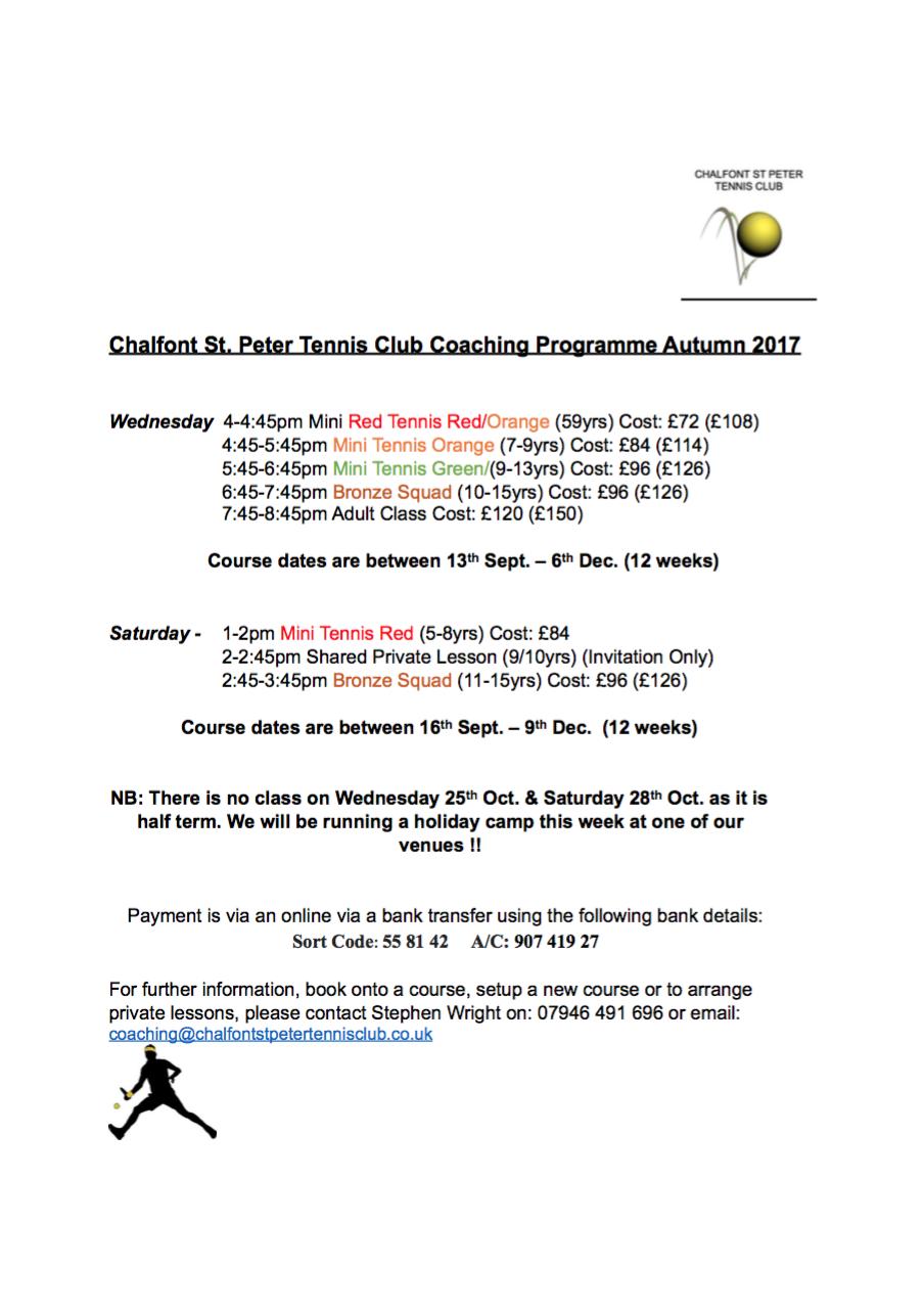 junior-tennis-chalfont-st-peter-courses