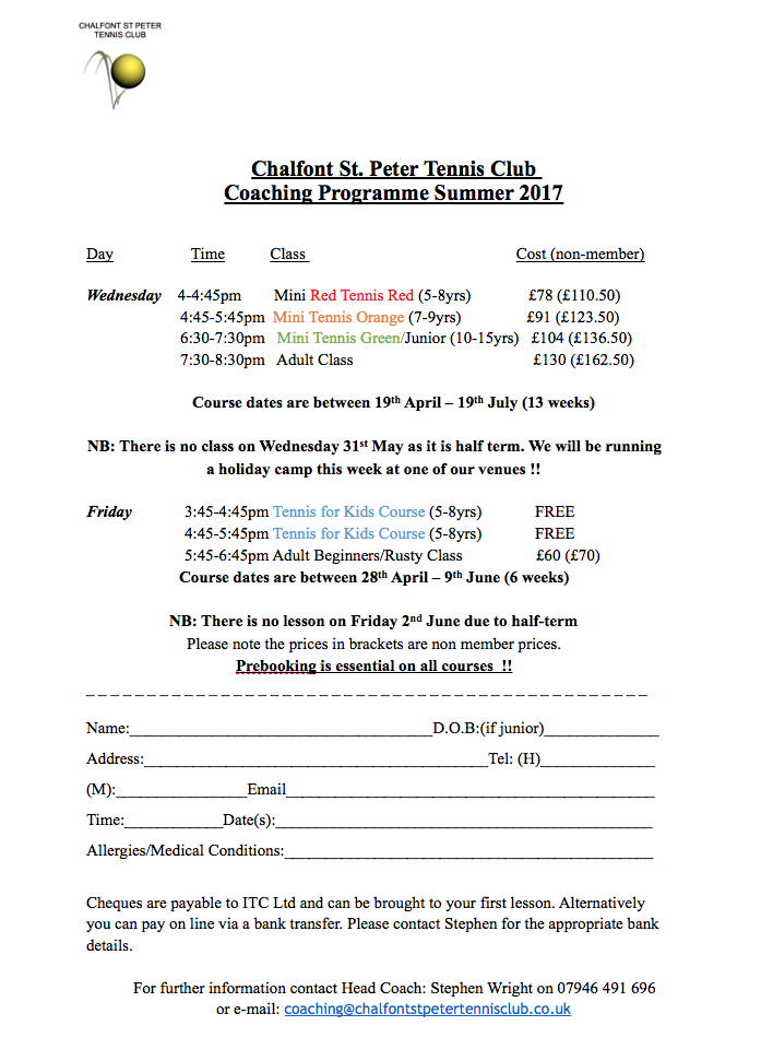 chalfont-st-peter-tennis-club-summer-tennis-coaching-programme